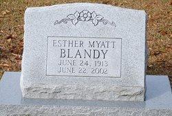 Esther <i>Myatt</i> Blandy