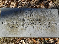 Lester Frances <i>Grimshaw</i> Allen