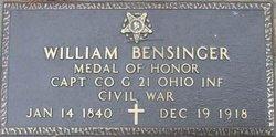 William Bensinger