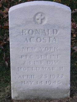 PFC Ronald Acosta