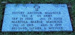 Henry Arthur Maurice