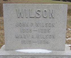 Mary Ann <i>Hughes</i> Wilson