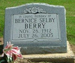 Bernice E. <i>Selby</i> Berry