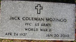 Jack Coleman Mozingo