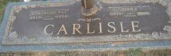 Gertrude Pat <i>Harmon</i> Carlisle