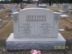 Anna Maria Mary <i>Metting</i> Belitz