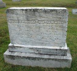 Martha M <i>Moore</i> Blackmun