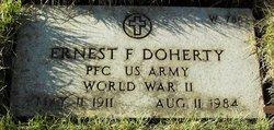 Ernest F Doherty