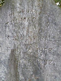 Thomas S Ball