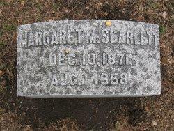 Margaret M. Scarlett