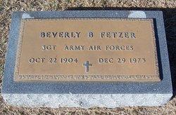 Beverly B Fetzer