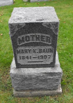 Mary K <i>Bay</i> Baun