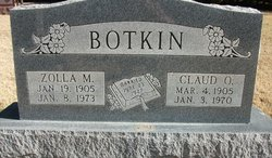 Claud Oliver Botkin