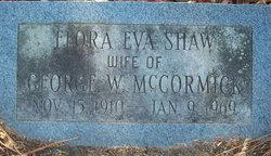 Flora Eva <i>Shaw</i> McCormick