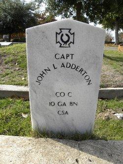 Capt John L Adderton
