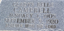 Gladys Belle Campbell