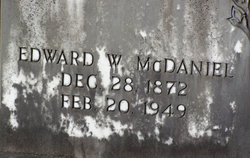 Edward W McDaniel