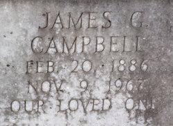 James Garfield Gar Campbell