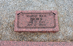 Margie <i>Rich</i> Brown