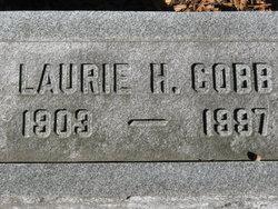 Laurie Herbert <i>Jones</i> Cobb