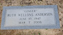 Ruth Ginger <i>Wellons</i> Anderson