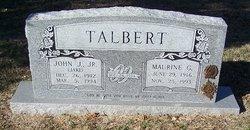 Maurine <i>Garrett</i> Talbert