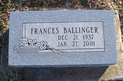 Frances Louise <i>Hembel</i> Ballinger