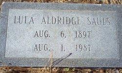 Lula <i>Aldridge</i> Sauls