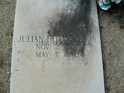 Julian Horne Jule Ennis, Sr