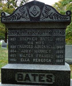 Abby Harriet Bates