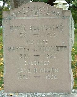 Jane Howland <i>Blanchard</i> Allen