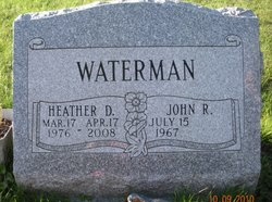 Heather D <i>Curtis</i> Waterman