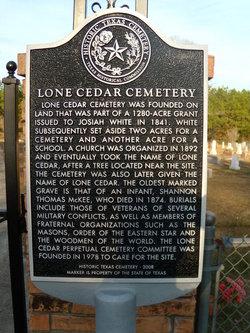 Lone Cedar