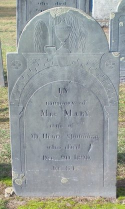 Mrs. Mary <i>Fletcher</i> Spaulding