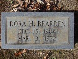 Dora Ovaline <i>Howell</i> Bearden