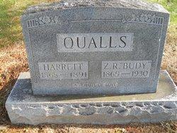 Harrett Elizabeth <i>Johnson</i> Qualls