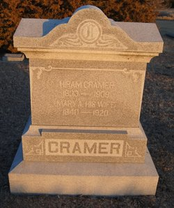 Mary Adeline <i>Kreger</i> Cramer