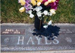Susan Gertrude Susie <i>Cravener</i> Hayes