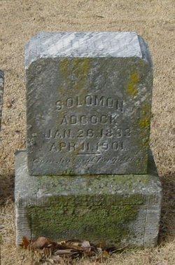 Solomon E Adcock