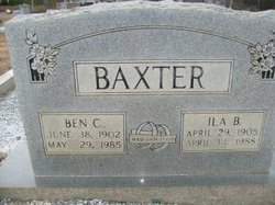 Ila <i>Busby</i> Baxter