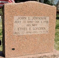 Ethel E. <i>Lofgren</i> Johnson
