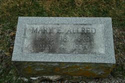 Mary Emily <i>Caulk</i> Allred