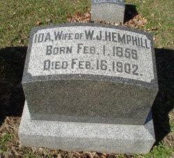 Ida Jubilow <i>Smith</i> Hemphill