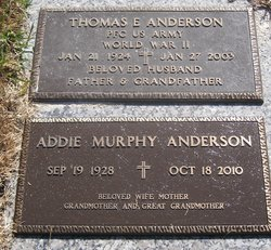 PFC Thomas Eugene Anderson