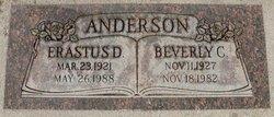 Erastus D Andy Anderson