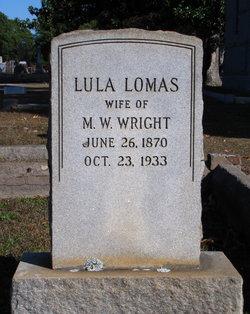 Lula <i>Lomas</i> Wright