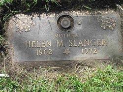 Helen M <i>Knauff</i> Slanger