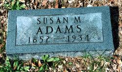 Susan Rebecca <i>Martin</i> Adams