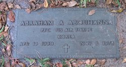 PFC Abraham Anthony Abouhanna