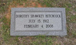 Dorothy Blouser <i>Shawkey</i> Hitchcock